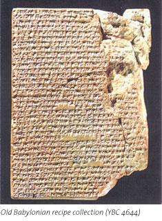 Cuneiform Recipes (Photo credit: Yale University)