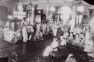 Women at a Party in Mumbai, 1910