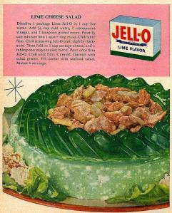 Lime Jello Salad 1954