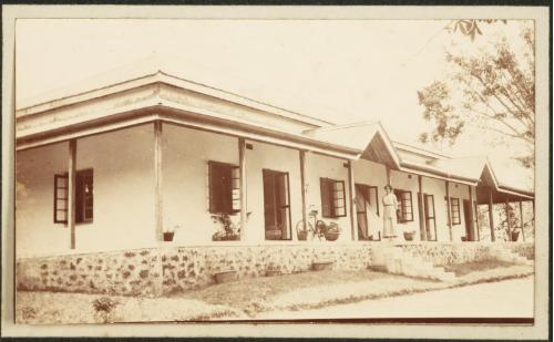 Africa colonial house Mrs. Inglis