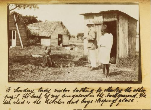 Africa colonial kitchen