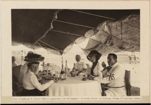 Africa colonial lunch