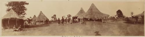 Africa colonial rest houses at Lukudu