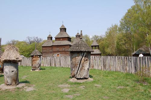 Beehives from the Old Days, Ukraine