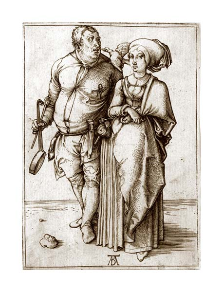 The Cook and his Wife, by Albrecht Durer