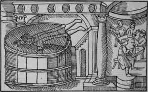 King Hunding Dying in the Hydromel Mead Vat