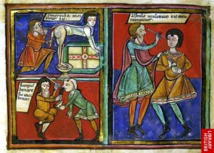 Medieval Surgery, with a Red-Hot Poker