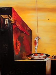 Eggs without the Plate (Salvador Dali)
