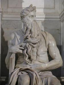 Michelangelo's Moses (Photo credit: Claudia Gold)