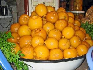 Preserved Lemons in Morocco