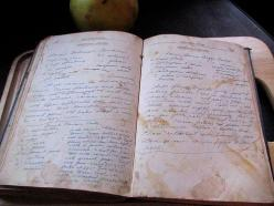 Cookbooks manuscripts
