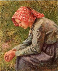 Hunger seated_peasant