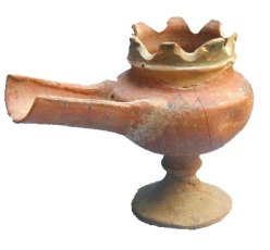 Pomegranate artifact from Israel