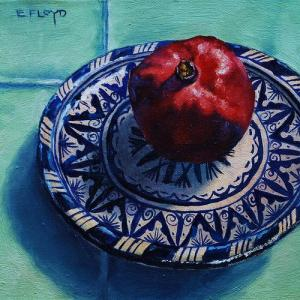 Pomegranate painting 2