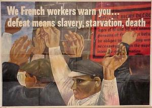 Starvation French workers