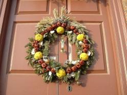 Colonial Williamsburg wreath 1