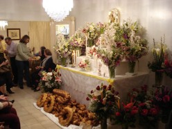 St. Joseph's Day altar/table