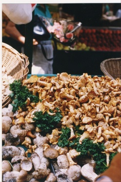 Mushrooms in Paris market