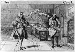 French cooks Duke of Newcastle and his cook