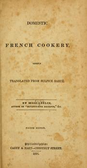 French cooks Leslie French Domestic