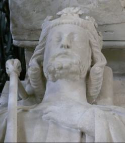 French cooks Louis VI death bust