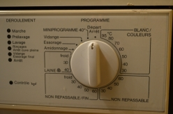 French cooks washing machine