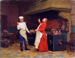 Art credit: Jehan Georges Vibert (1890)