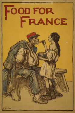 France food for France war poster