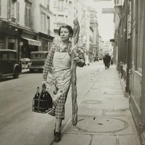 france huge baguette old picture
