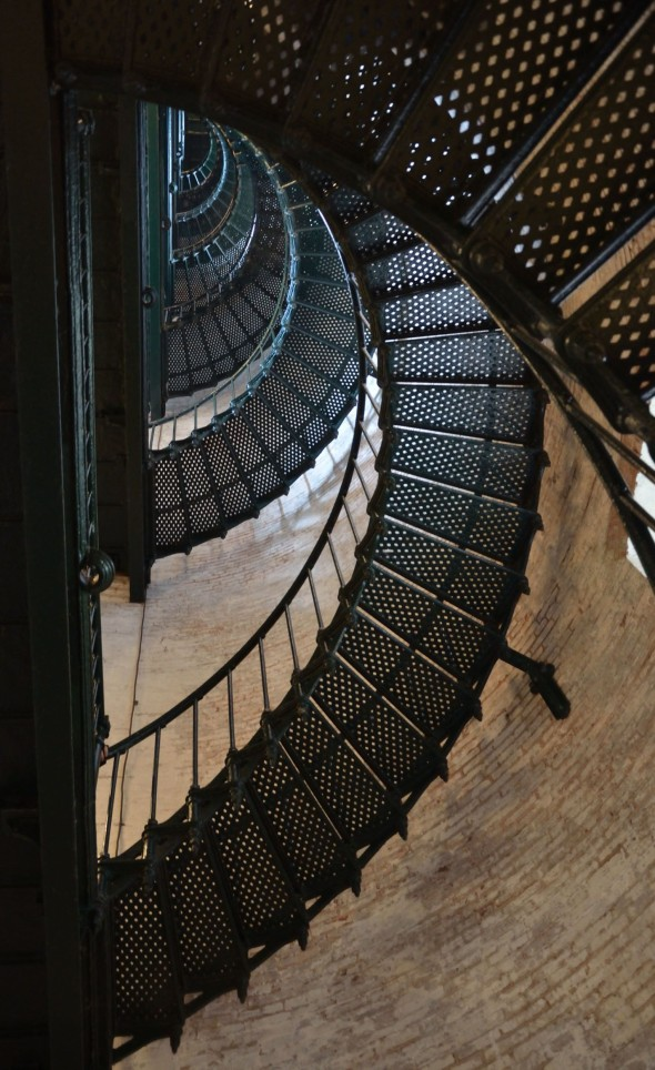 Lighthouse stairs, Corolla, NC (Photo credit: C. Bertelsen)