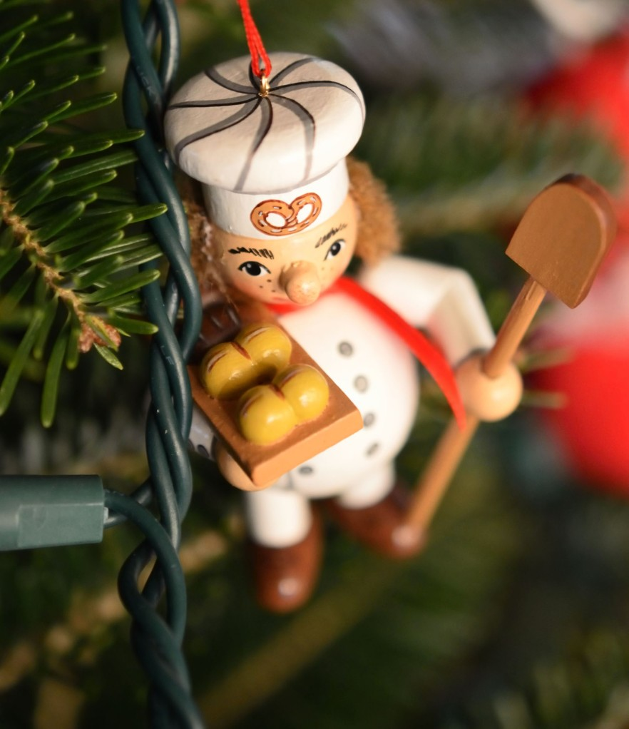 A German ornament depicting a baker. (Photo credit: C. Bertelsen)