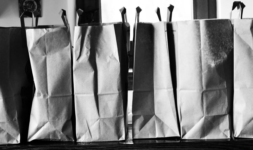 Grocery bags (Photo credit: C. Bertelsen)