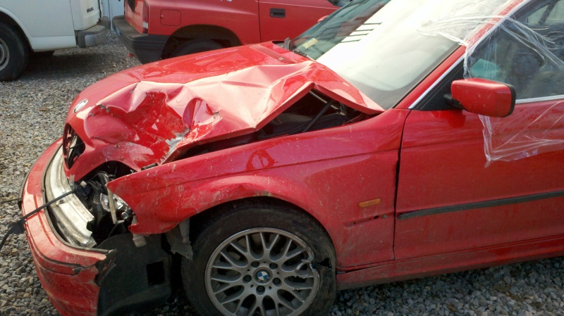 Beemer crash