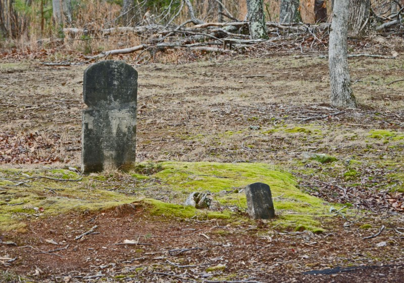 Slave graveyard Reynolds homeplace edited