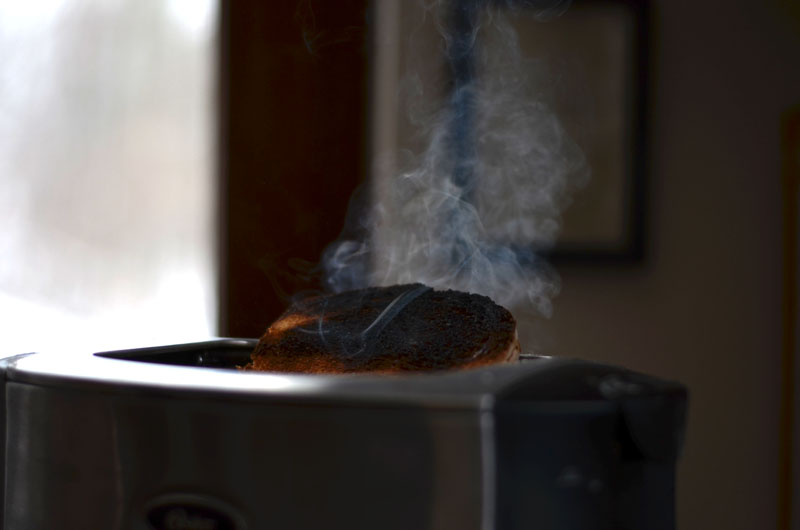 #4 fast shutter speed toaster