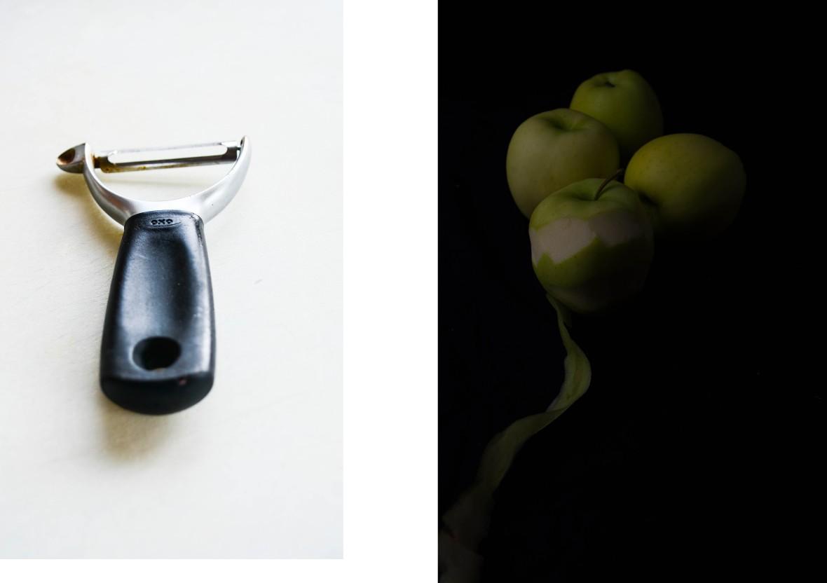 3 Peeler apple montage