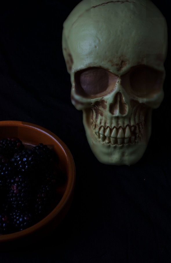 Blackberry skull 1