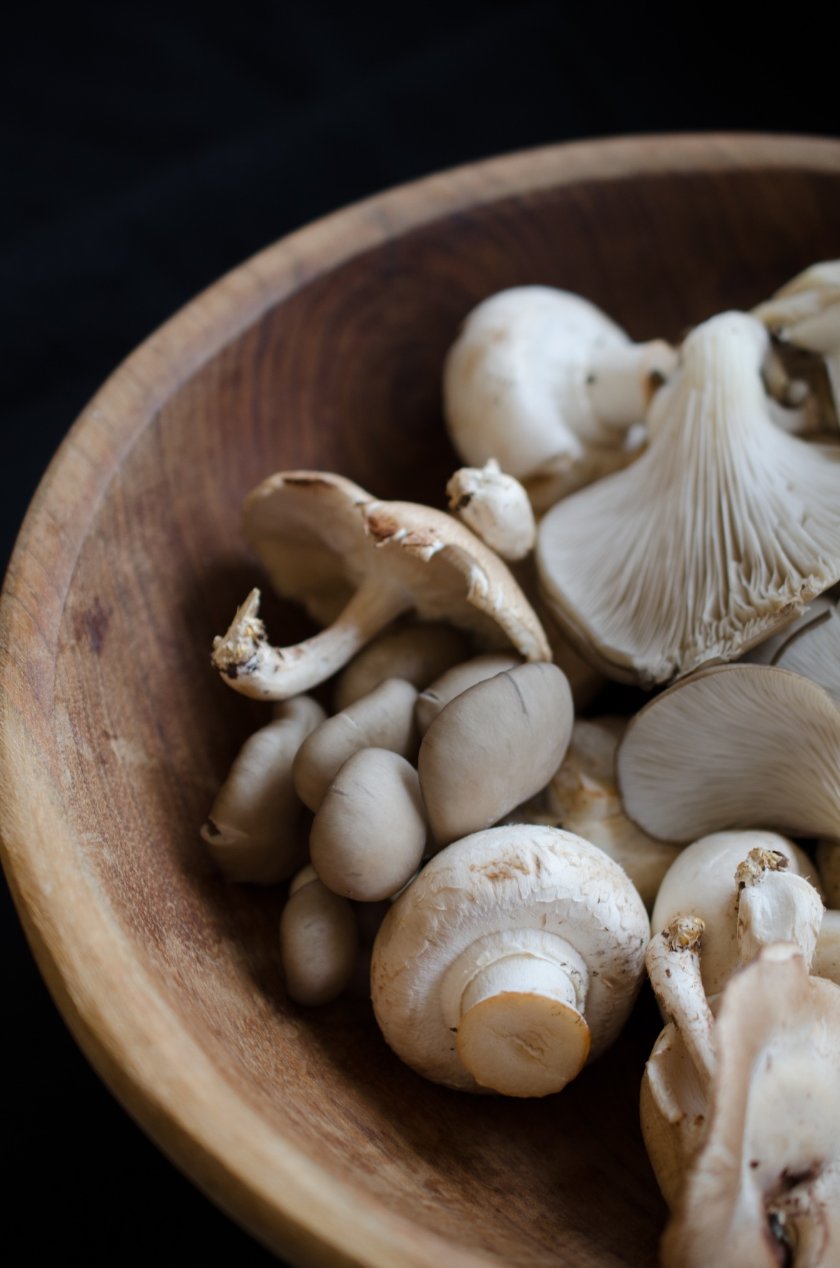 Bowl of mushrooms