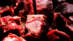 Meat close up