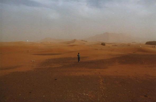 Sahara walking
