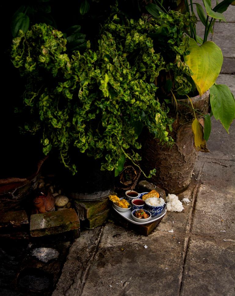 Chiang Mai street shrine