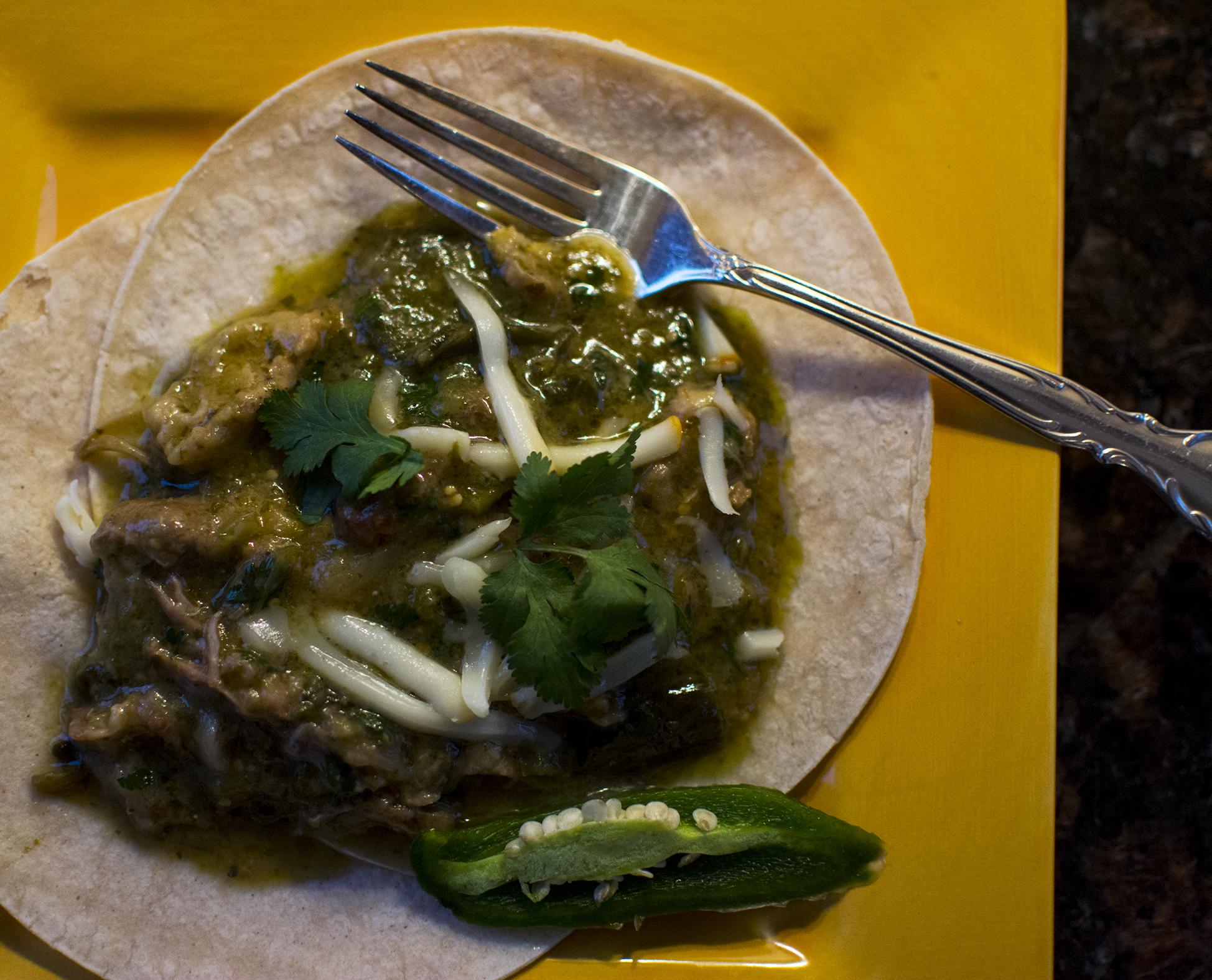 Pork chile verde 2
