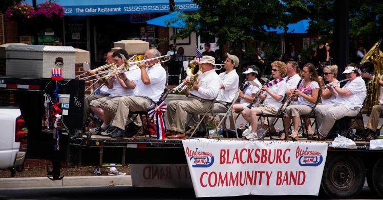 Blacksburg band rs