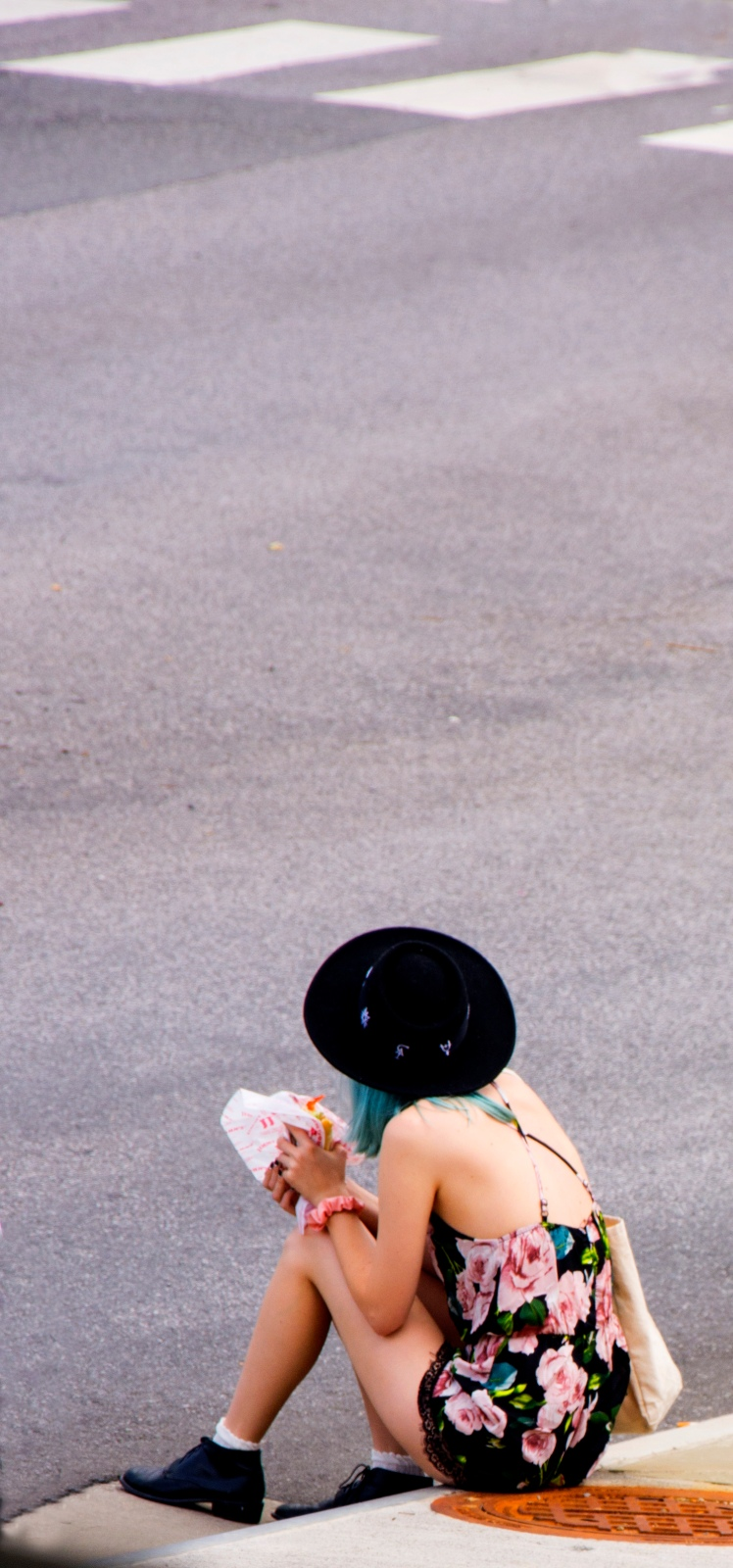 Girl at parade