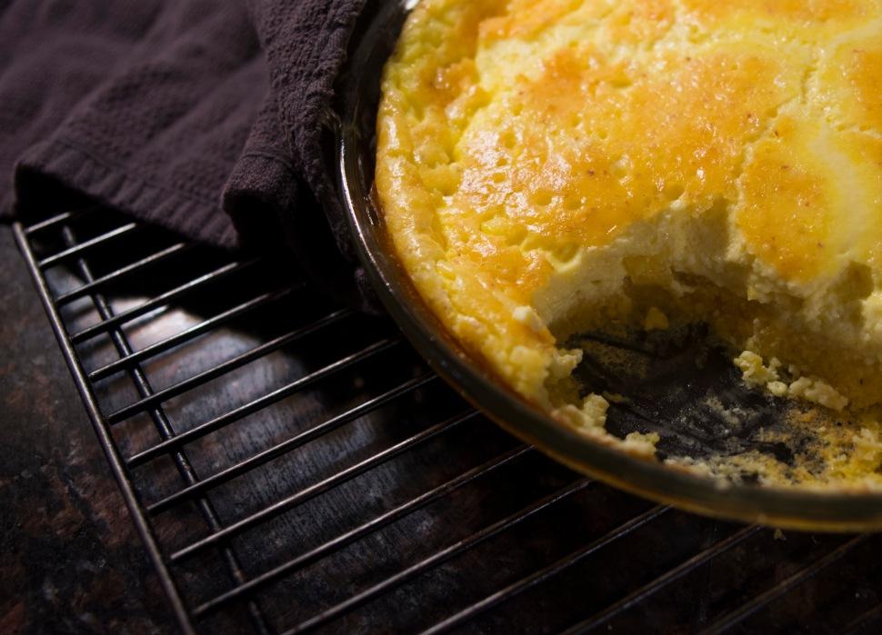 No boil corn pudding