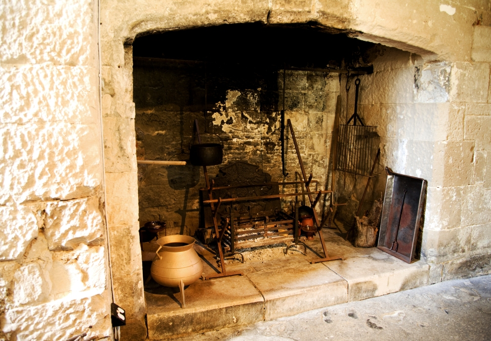 tudor-era-fireplace