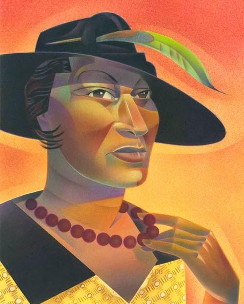 novelist and essayist who was influenced by hurston